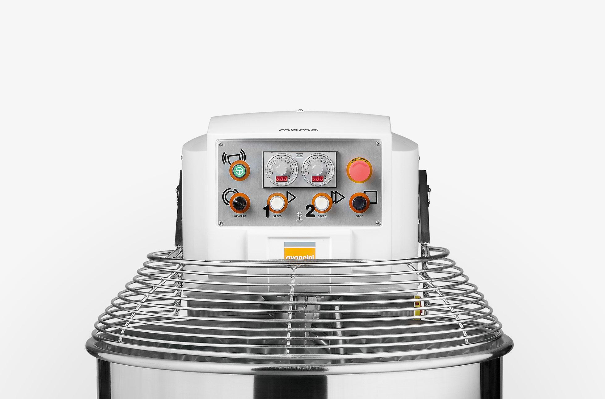 Moma Avancini The silent revolution The silent, elegant, and sturdy mixer